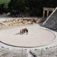 Aufführung in Epidauros