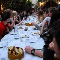 Abschlussessen in Athen
