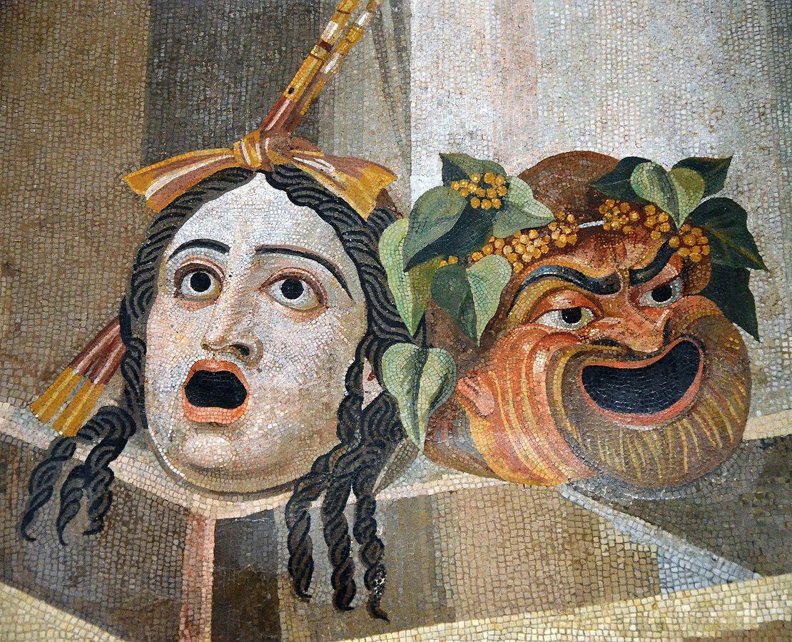 Römische Theatermasken