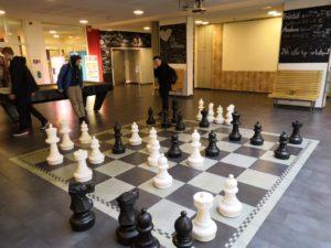 Schach in der Jugendherberge