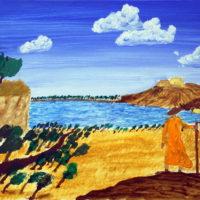 Goethe im sommerlichen Italien (Kunstprojekt - Projekttage 2019)
