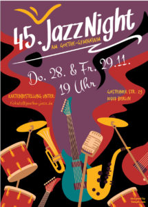 45. Jazz-Nights @ Goethe-Gymnasium, Aula